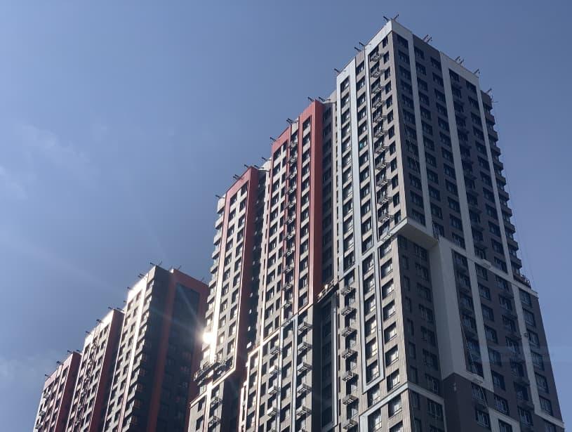 Назападе Москвы построили новый жилой комплекс