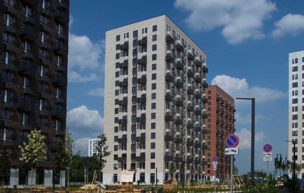 Вжилом районе «Саларьево парк» сдали два новых дома
