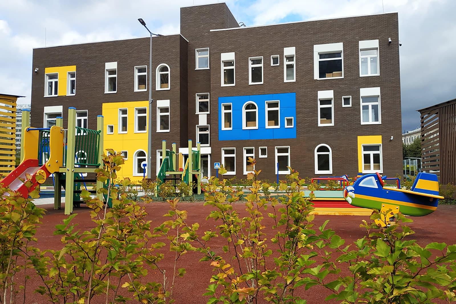 Вжилом комплексе «ЗИЛАРТ» появился детский сад