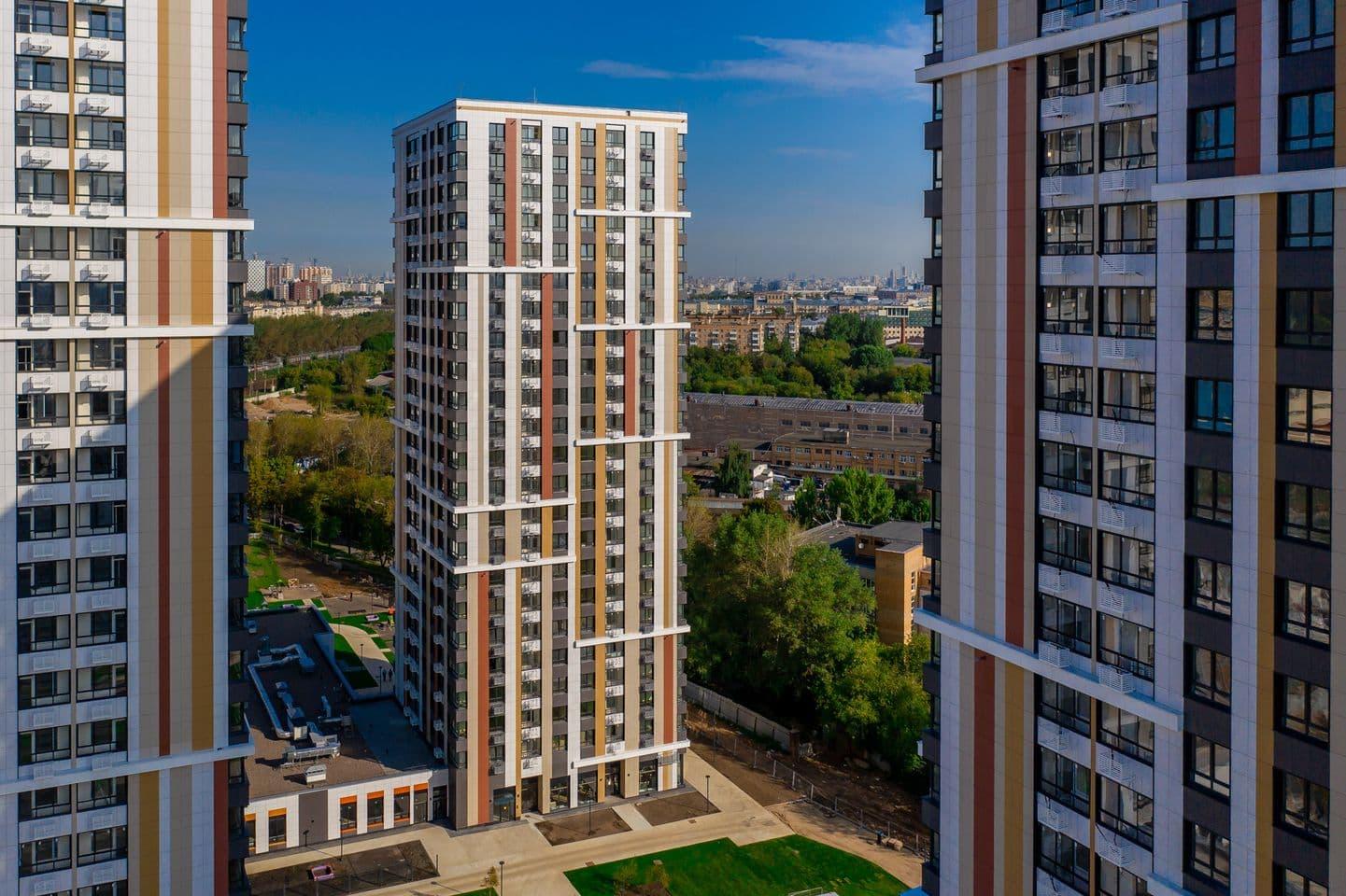 ГК«Пионер» построила четыре дома наюге Москвы