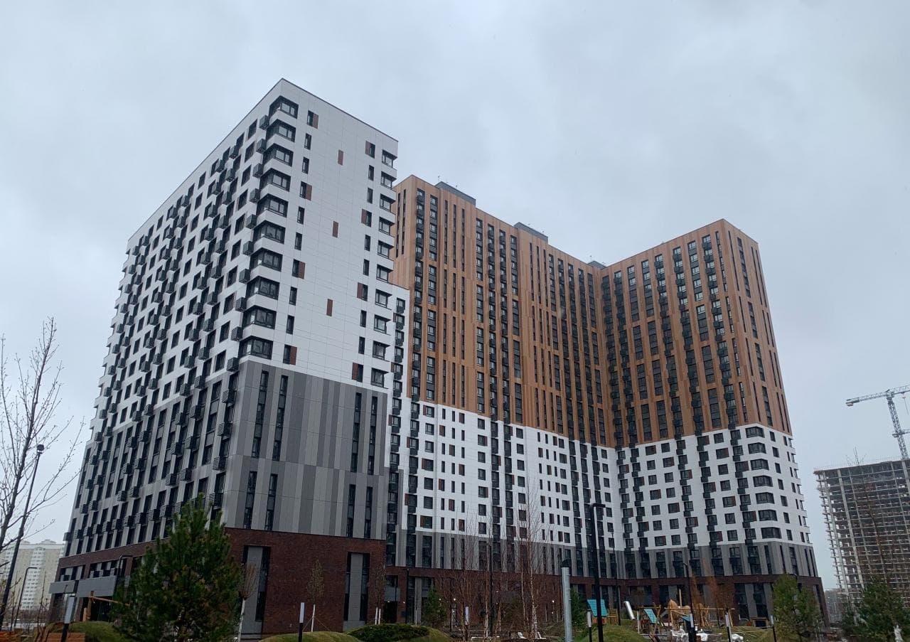 ВНовой Москве построили четыре дома на1227 квартир